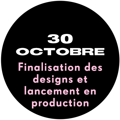 30th October - Designs Finalised